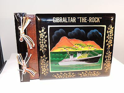 "Black Lacquer Gibraltar "" The Rock"" Photo Book (7050)"