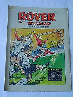 ROVER AND WIZARD Jan 25th 1969 Good+