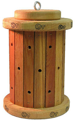 ROUND Ladybug House -Handmade Locally -Keep Lady Bugs in Your Garden, Shelter