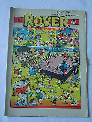 ROVER Sep 26th 1970 Good+