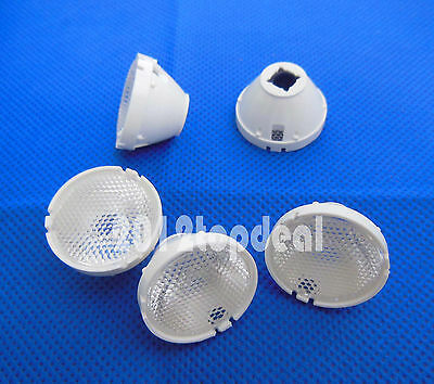20x 5° 25° Lens Reflector Collimator Holder 32.5mm For Cree XHP50 XML XML2 LED