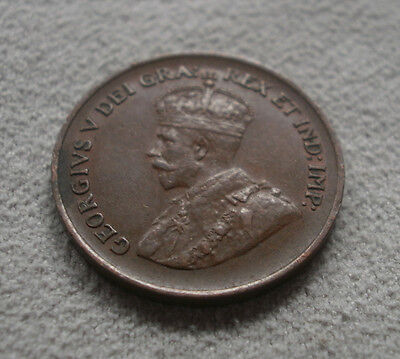 1933 Canada Canadian small cents one cent penny coin