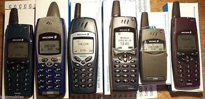 6 X Ericsson Dummy Display Mobile Phone Models R320s/R310s/A2618s/R380s/T28s LOT