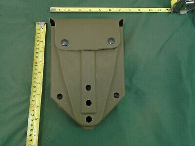 Genuine Us Military Entrenching Tool E-Tool Folding Shovel Rubber Cover New 2007