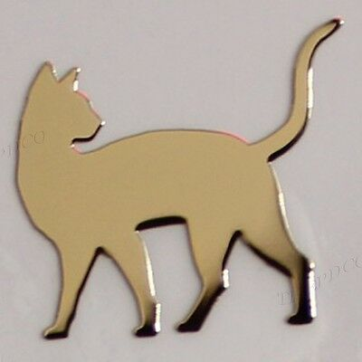 TPD 24K Gold Plated Anti Radiation Block Shield Cell Phone Sticker Cat No2