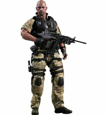 G.I. Joe Die Abrechnung Roadblock Dwayne Johnson Actionfigur MMS199 1:6 Hot Toys