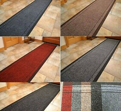 New Hard Wearing Rug Industrial Kitchen Hall Non Slip Runner Made to Measure Mat