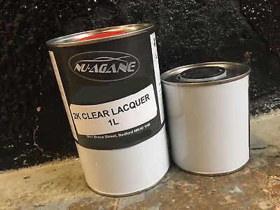 1.5 Lt 2K Lacquer and Activator / Hardener Kit 1 Lt 2 Pack Clear 500Ml Activator