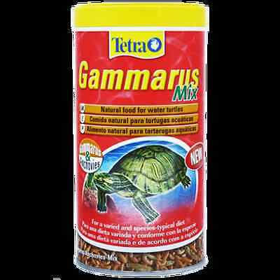 TETRA GAMMARUS MIX 110 GR/1litre  NATURAL FOOD FOR TURTLES