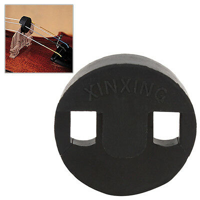 1 Cello Mute Rubber Black Violoncello Cellos High Efficient Tourte Style Round