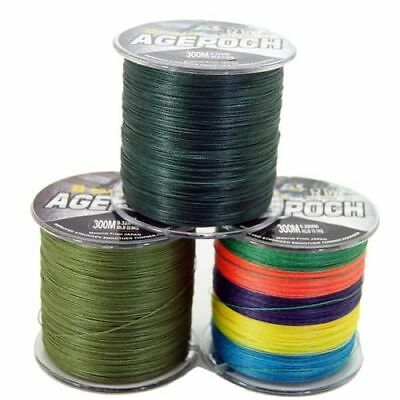 Super Strong 8Strands Braid Dyneema Fishing Line 300M-1000M 30-100LB all colors