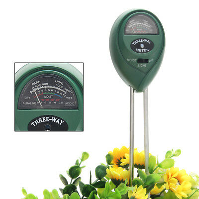 3 in1 hydroponics Analyzer Plant Flowers Soil PH Tester Moisture Light Meter