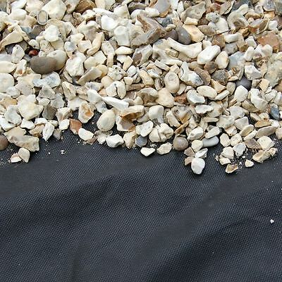 Weed Control Fabric Landscape Fabric Membrane Garden Ground Cover 1m x 14m
