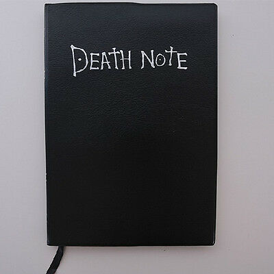 Death Note Notebook Large Writing Journal Anime Theme Death note Cosplay School