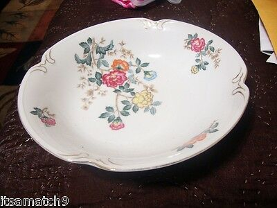 CHARM CREST Fine China MAYFAIR Pattern  Oval Serving Platter Japan