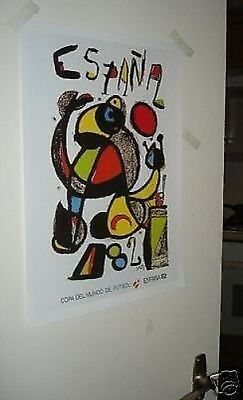 1982 Spain World Cup Official Poster REPRO