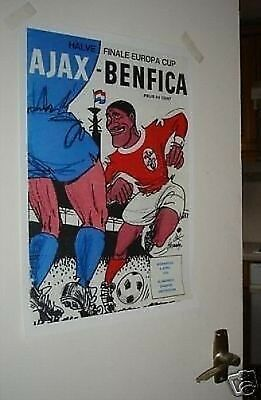 Ajax Benfica Poster of Programme