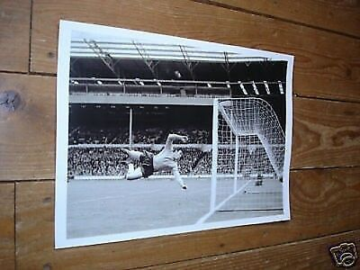 Gordon Banks England 1966 World Cup Diving Poster