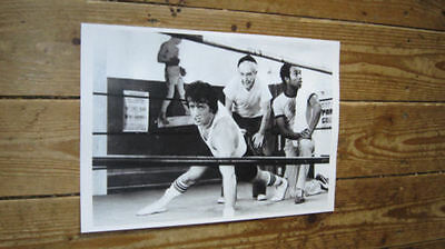 Rocky Sylvester Stallone Training in Gym POSTER