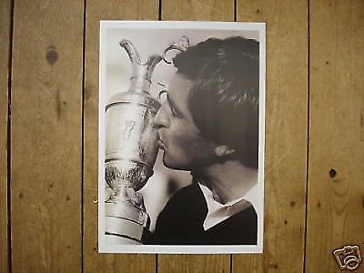 Seve Ballesteros Golf Legend Trophy POSTER Kiss