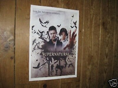 Supernatural Dean and Sam Winchester POSTER Wds