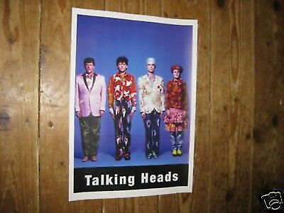 Talking Heads Awesome new POSTER