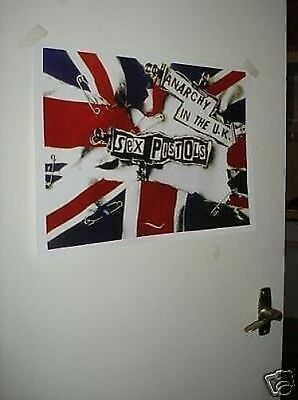 The Sex Pistols Tour Poster Anarchy in the UK