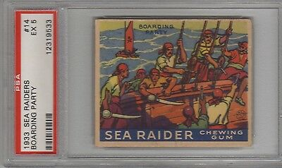 1933 R124 Sea Raiders #14 Psa 5