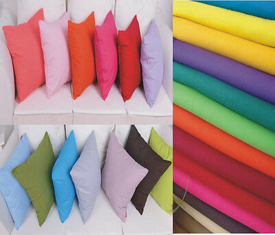 100%Cotton Pillow Cushion Cover Case Square 65x65cm European Pillowcases