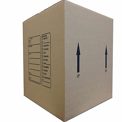 Deluxe Moving Boxes 18x18x16'' - 10 Pack