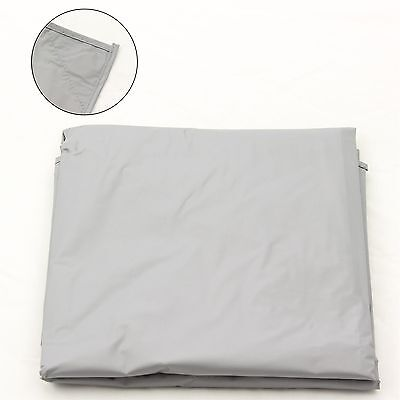 7Ft Grey Nylon Weighted Pool Or Snooker Table Cover