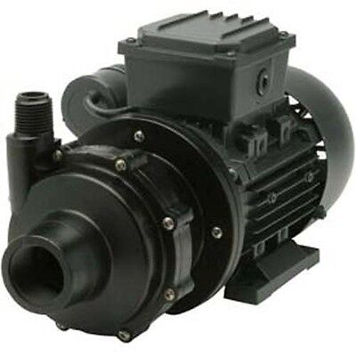Commercial CHEMICAL PUMP - PVDF - 1/8 HP - 115V - 1PH - 15 GPM - Magnetic Drive