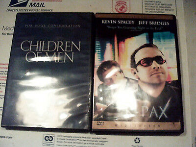 Two Sci-Fi DVDs that play with your mind: Children of Men & K-Pax