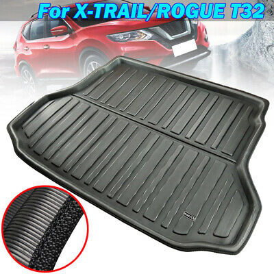 Rear Cargo Boot Liner Trunk Mat Floor Tray Carpet For Nissan Rogue T32 2014-2019