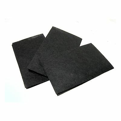 3p Non-toxic Charcoal Flame Retarding Range Hood Filter Replacement Universal