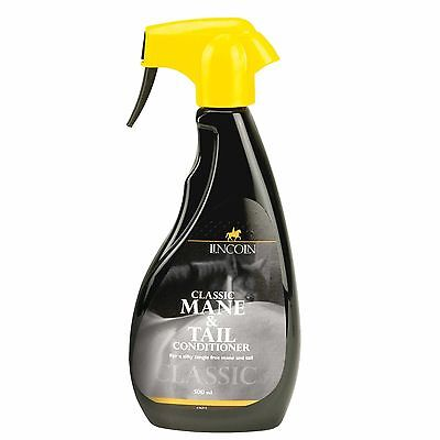Lincoln Classic Mane & Tail Conditioner - Horse Grooming - 250ml, 500ml, 1 Litre