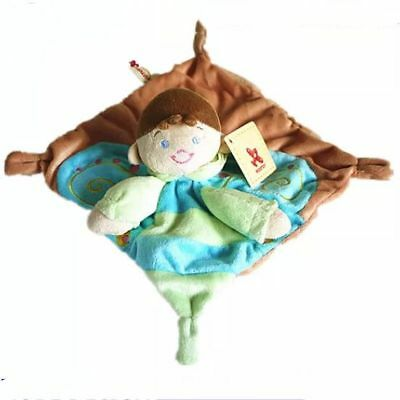 Nicotoy Baby Comforter Cuddly Little Prince Plush Rattle Security Blanket GIFT