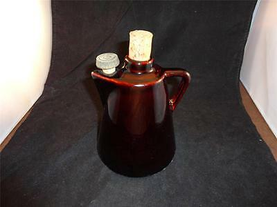 Vintage 2 Cork Early 20th Century Ceramic Maple Syrup Jug/Container Marked USA