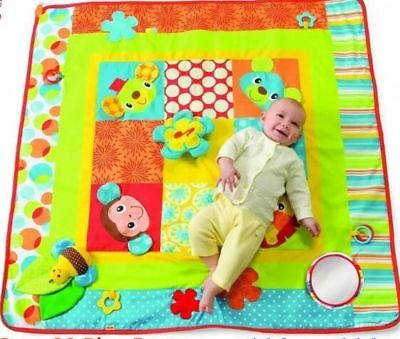 Infantino Jumbo Patchwork Play Space Baby Toddler Musical Activity Mat Gym Gift