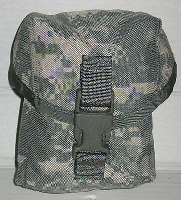NEW US Army Military MOLLE II ACU 100 Round Utility Pouch Saw Gunner Pouch