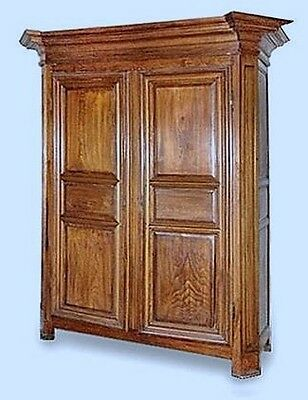 Antique Armoire - Majestic Antique French Oak Armoire