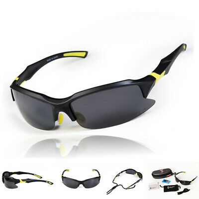 Professional Polarized Cycling Glasses Casual Sports Sunglasses Goggles + Case