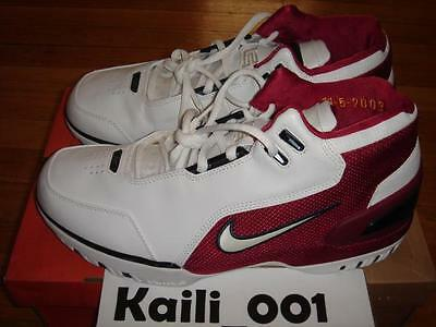 2570f930f747 Nike Air Zoom Generation Lebron First Game Size 10.5 PE VII 8 308214-112 B