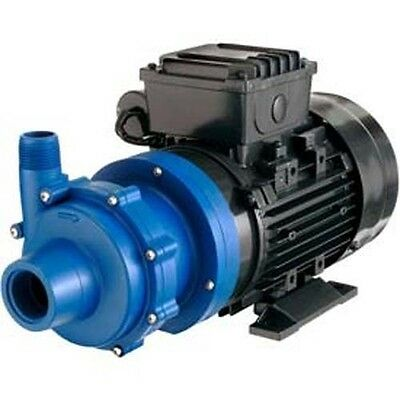 CHEMICAL PUMP-  Polypropylene - 1/2 HP - 115V - 1 Ph - 30 GPM - Magnetic Drive