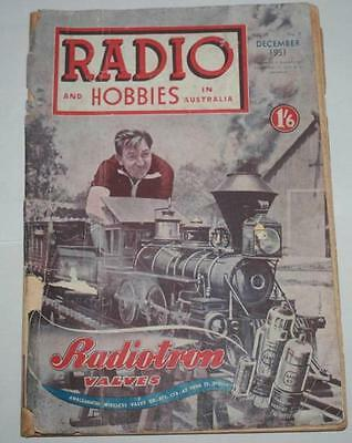 Radio and Hobbies in Australia   December 1951