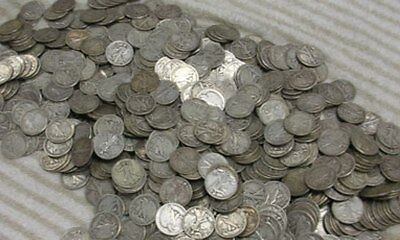 1/4 Quarter Dollar No Stamp 25 Cents Coin 25c