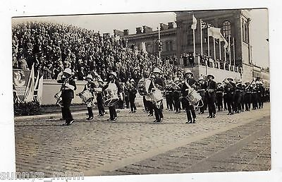 Finland, Helsinki Trade Exhibition, H.m.s. Yorks Military Band, 1933, Rp