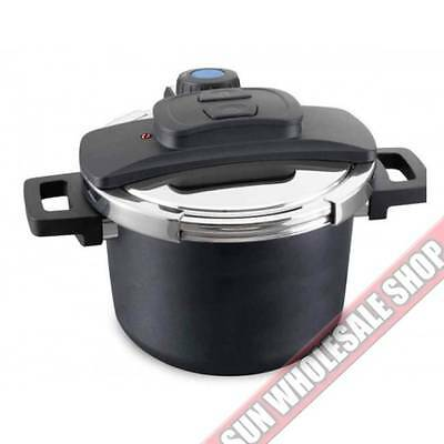 Baccarat ID3 One Touch Non-Stick 6 Litre Pressure Cooker! RRP $359.99!
