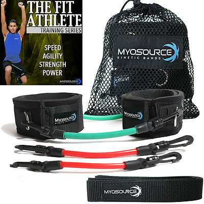 Martial Arts Power Kick Lower Body Training Resistance Bands From Myosource