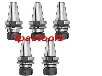 5Pc Bt40 Er32 Precision Collet Chuck 20000 Rpm New Tenth Accuracy
